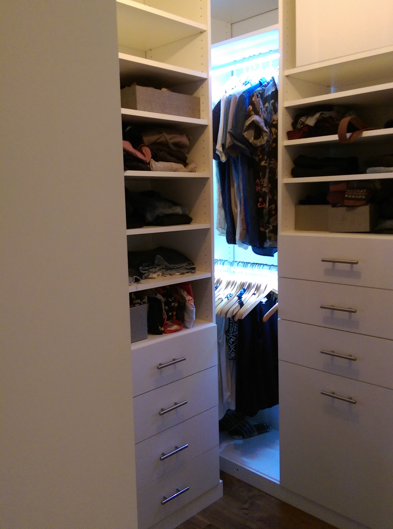 LED Lighting Walk In Master Closet Sherman Oaks Ca