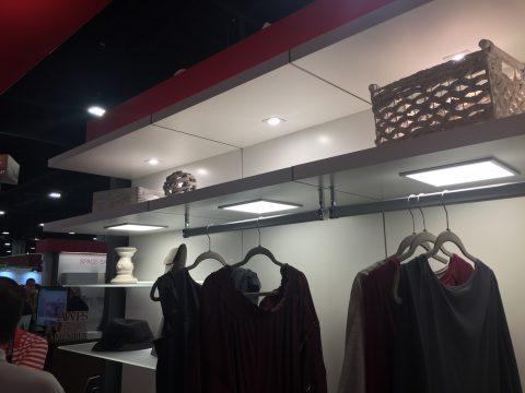Coloma Lightbox closet