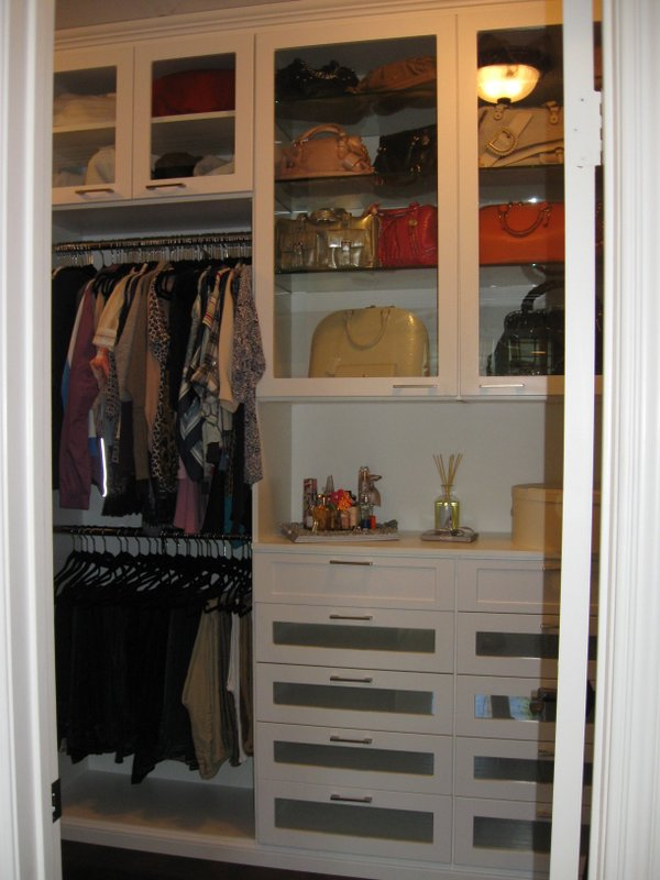 Master Closet before and After