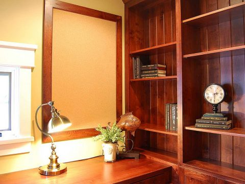 Custom Home Office Cabinetry Ideas