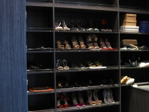 dark wood shoe closet 2
