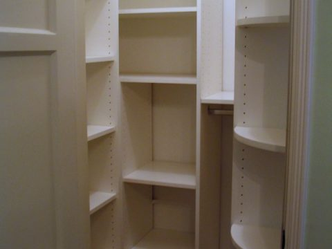 very small walk-in pantry
